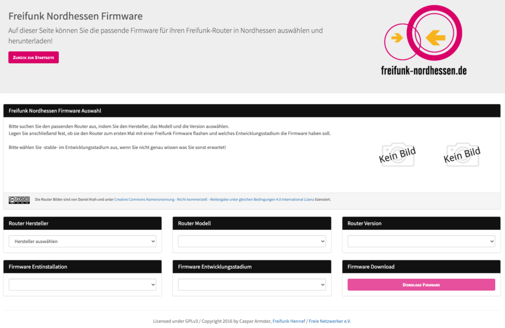 Download-Portal von Freifunk Nordhessen e.V.